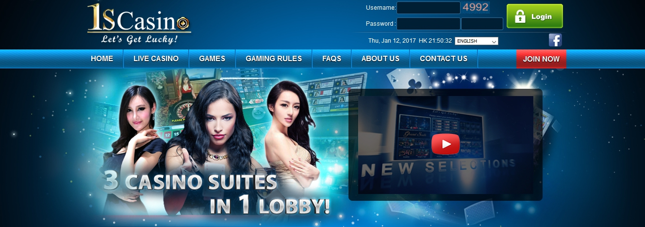 1Scasino Casino Online