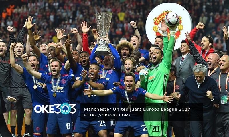 Manchester United Jawara Europa League 2017 taklukkan Ajax 2-0 di Final
